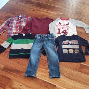 GAP & Old Navy Boys Lot 4T